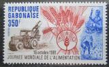 Poštovní známka Gabon 1981 Světový den potravin Mi# 806