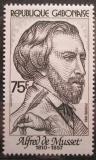 Poštovní známka Gabon 1982 Alfred de Musset, spisovatel Mi# 817
