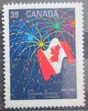 Poštovní známka Kanada 1990 Státní vlajka Mi# 1186