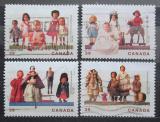 Poštovní známky Kanada 1990 Panenky Mi# 1182-85