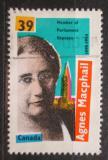 Poštovní známka Kanada 1990 Agnes Campbell Macphail, politička Mi# 1201