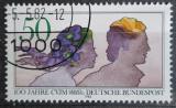 Poštovní známka Německo 1982 Mladý pár Mi# 1133