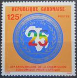 Poštovní známka Gabon 1983 Africká hospodářská komora, 25. výročí Mi# 864