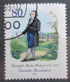 Poštovní známka Německo 1983 Christoph Wieland, básník Mi# 1183