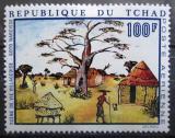 Poštovní známka Čad 1970 Umění, Goto Narcisse Mi# 288
