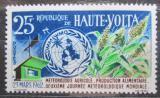 Poštovní známka Horní Volta 1962 Světový den meteorologie Mi# 99
