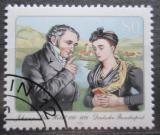 Poštovní známka Německo 1985 Johann Peter Hebel, básník Mi# 1246