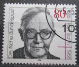 Poštovní známka Německo 1986 Karl Barth, teolog Mi# 1282