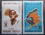 Poštovní známky Tunisko 1962 Den Afriky Mi# 595-96