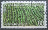 Poštovní známka Německo 1987 Rýžové pole Mi# 1345