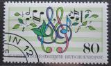 Poštovní známka Německo 1987 Německá pěvecká společnost Mi# 1319