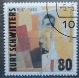 Poštovní známka Německo 1987 Umění, Kurt Schwitters Mi# 1326