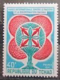 Poštovní známka Čad 1971 Boj proti rasové diskriminaci Mi# 364