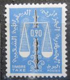 Poštovní známka Alžírsko 1963 Váhy, doplatní Mi# 61