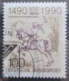 Poštovní známka Německo 1990 Mladý doručovatel, Albrecht Dürer Mi# 1445