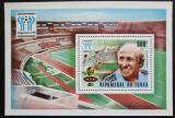 Poštovní známka Čad 1977 MS ve fotbale Mi# Block 70