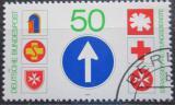Poštovní známka Německo 1979 Dopravní značky Mi# 1004