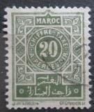 Poštovní známka Francouzské Maroko 1917 Doplatní, nominál Mi# 14