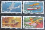 Poštovní známky Kanada 1979 Letadla Mi# 754-57
