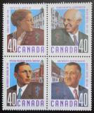 Poštovní známky Kanada 1991 Lékaři Mi# 1218-21