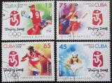 Poštovní známky Kuba 2008 LOH Peking Mi# 5025-28