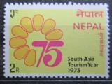 Poštovní známka Nepál 1975 Rok turismu v Jižní Asii Mi# 317