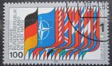 Poštovní známka Německo 1980 Vlajky států NATO Mi# 1034