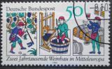 Poštovní známka Německo 1980 Vinařství Mi# 1063