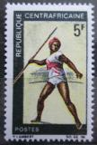 Poštovní známka SAR 1969 Hod oštěpem Mi# 188