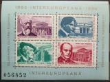 Poštovní známky Rumunsko 1985 Skladatelé, INTEREUROPA Mi# Block 212