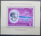 Poštovní známka Rumunsko 1978 Historie letectví Mi# Block 156