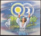 Poštovní známka Rumunsko 1987 Pohádky, Petre Ispirescu Mi# Block 234