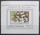 Poštovní známka Rumunsko 1979 Umění, květiny Mi# Block 159