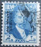 Poštovní známka Irák 1932 Král Faisal I., úřední Mi# 76