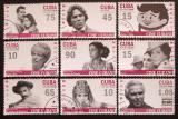 Poštovní známky Kuba 2009 Kubánská kinematografie Mi# 5235-43
