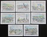 Poštovní známky Rakousko 1964 Výstava WIPA, Vídeň Mi# 1164-71