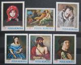 Poštovní známky Rumunsko 1968 Umění Mi# 2666-71 Kat 9€