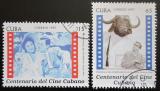 Poštovní známky Kuba 1997 Kubánské kino Mi# 3994-95