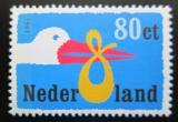 Poštovní známka Nizozemí 1999 Čáp přináší dítě Mi# 1733
