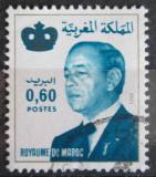 Poštovní známka Maroko 1981 Král Hassan II. Mi# 986