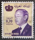 Poštovní známka Maroko 1981 Král Hassan II. Mi# 988