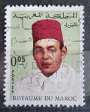 Poštovní známka Maroko 1968 Král Hassan II. Mi# 601