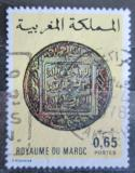 Poštovní známka Maroko 1976 Stará mince Mi# 826