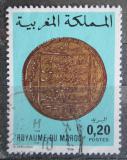 Poštovní známka Maroko 1976 Stará mince Mi# 846