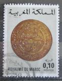 Poštovní známka Maroko 1977 Stará mince Mi# 872