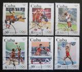 Poštovní známky Kuba 1983 LOH Los Angeles Mi# 2716-21