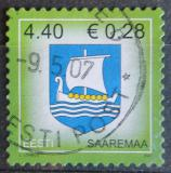 Poštovní známka Estonsko 2007 Znak Saaremaa Mi# 575