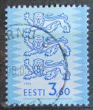 Poštovní známka Estonsko 1999 Znak Tři lvi Mi# 356