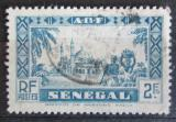 Poštovní známka Senegal 1935 Mešita Djourbel Mi# 143