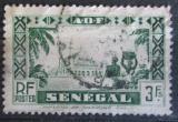 Poštovní známka Senegal 1935 Mešita Djourbel Mi# 144
